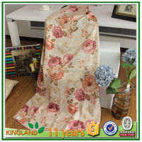 2013 new environmental protection process printing latest designs of fabric curtain wholesale