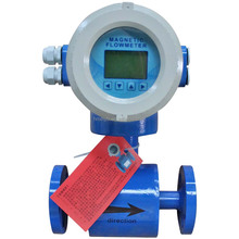 Measure vinegar,salt water flange connection PTFE lining electromagnetic flowmeter