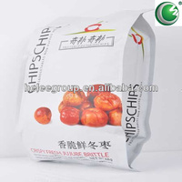 stand up pouch for food packaging