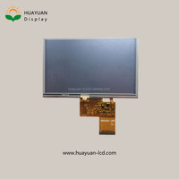 5 inch TFT LCD display lcd screen, TFT 5 inch tft lcd display 800 x 480 pixels, 5 inch TFT lcd display small touch screen