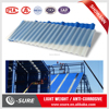Thin film flexible roofing solar panel / clear plastic roofing sheet / house design tile span roofing