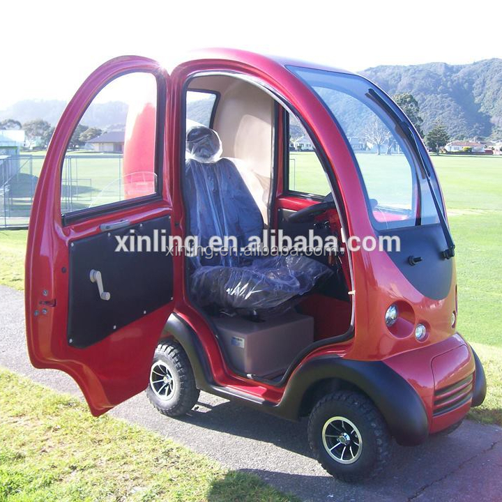 ELECTRIC GREEN MINI CAR; SMART CAR;XINLING 1 Seats 24V 1.4KW SMALL ELECTRIC CARS FOR SALE
