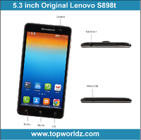 "Cheap Lenovo S8 mobile phone MTK6592 Octa Core smart phone Android 5.3"" HD OGS Screen 13.0MP"