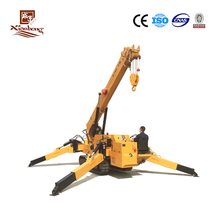 New Foldable Mini Crawler Crane with Free Shipping and Overseas Training