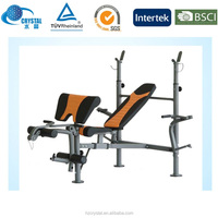 CRYSTAL SJ-205 Multifunction Gym Fitness Equipment Weight Bench for body building