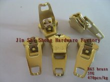 5YG slider,brass No.5 zipper slider,zipper puller