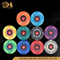 10g EPT Ceramic Poker Chip 40x3mm