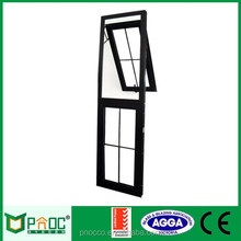 Aluminium Top hung Window With Double Glass