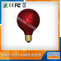 New product led laser bulb G80 LED lights bulb