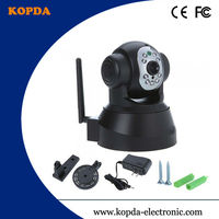 security ip camera wireless,low price P2P CMOS 300,000 pixels Audio:two-way P/T:H 270 V 90,RPM:15