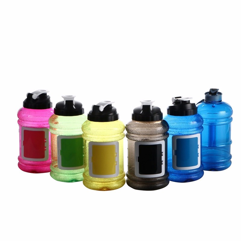 Hot product 2.2L Large Capacity Water Bottles Outdoor Sports Gym Half Gallon Fitness water bottle BPA FREE