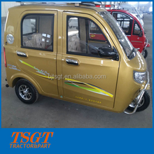 2016 hot sale small taxi 3 wheel electric vehicle safe structure