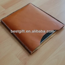wholesale PU/genuine leather sleeve for ipad 3 leather cases