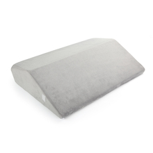 Multi Functional Medical Acid Reflux Snoring Folding Bed Wedge Pillow With Washable Zippered Cover