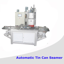 Automatic round can seaming machine
