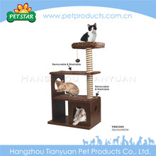 2017 New Design Corrugated Cat Toys Scratcher Tree