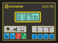 PARALLEL TO MAINS AND DUAL GENSET SYNCHRONIZATION UNIT