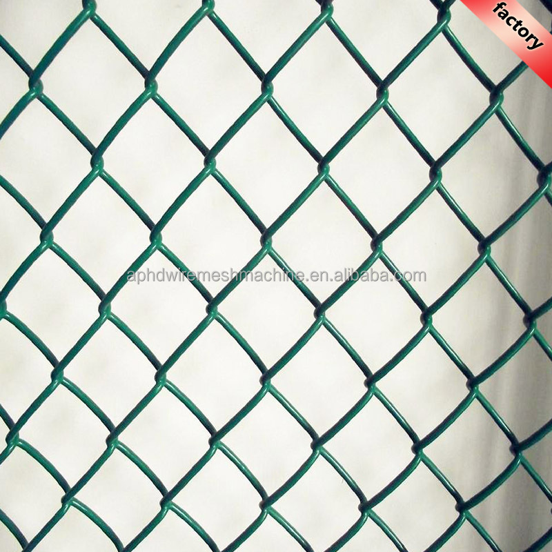 Good Quality Double Twist Edge Pvc Coated Chain Link Fence Price In ...
