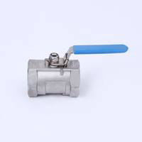 Factory wholesale 1PC stainless steel manual operation ball valve