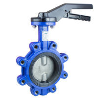 CF8M Lug Type Manual Butterfly Valve