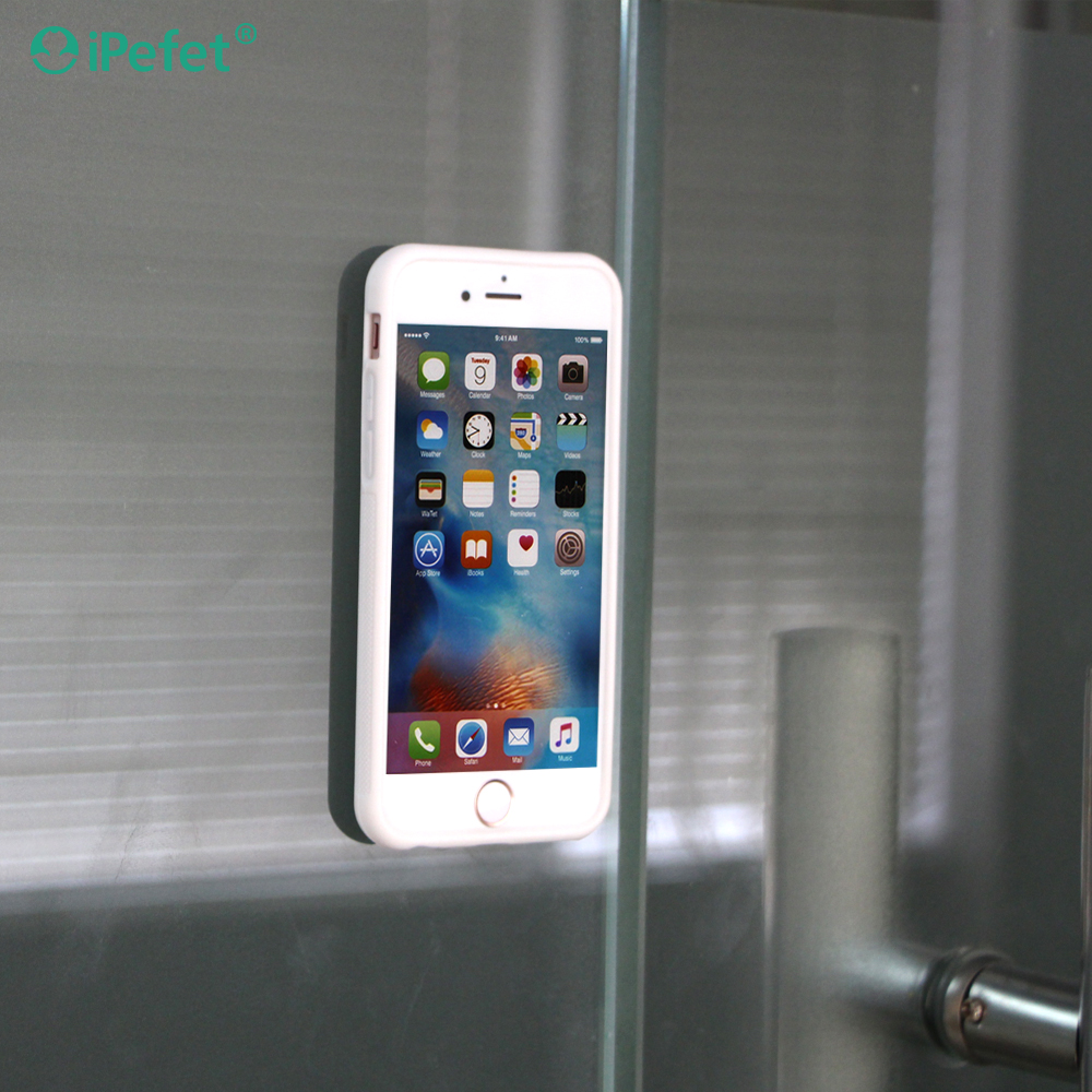 China proveedor Antigravity nano suction cellphone case cover with Nano technology