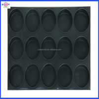 non-stick Muffin Metal Pan, 24 cups Muffin pan with silicone coated