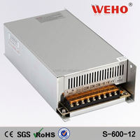 OEM High quality 600W Single output power supply 12v 50a power supply