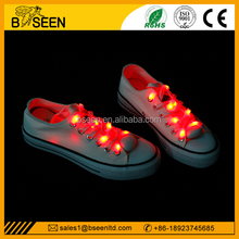 Round Feature and Shoelaces Type Flashing Shoelaces for Party