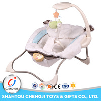 2017 new moving chair rocking folded baby electric cradle swing