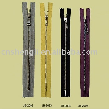 YKK heavy duty metal zippers (sl-0004)