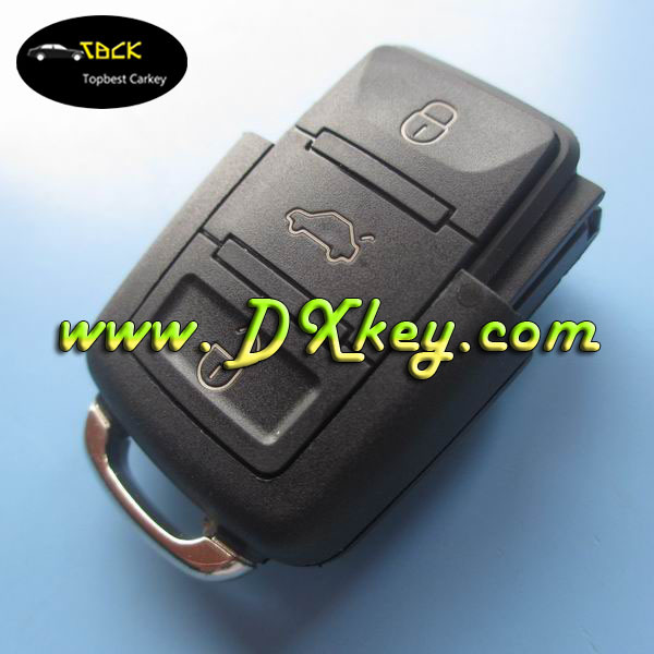 Best Price 3 buttons remote control key (315 MHZ) 1J0959753DJ for VW key VW remote control 315 mhz