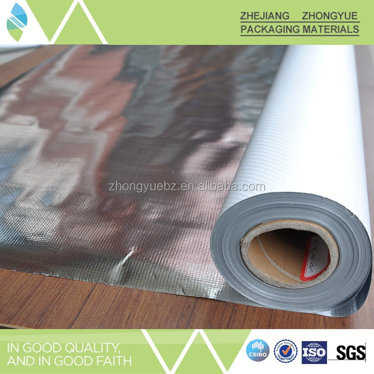 Gold supplier China aluminum foil fireproof fabric