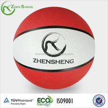 promotion cheap basketball with printing ,logo