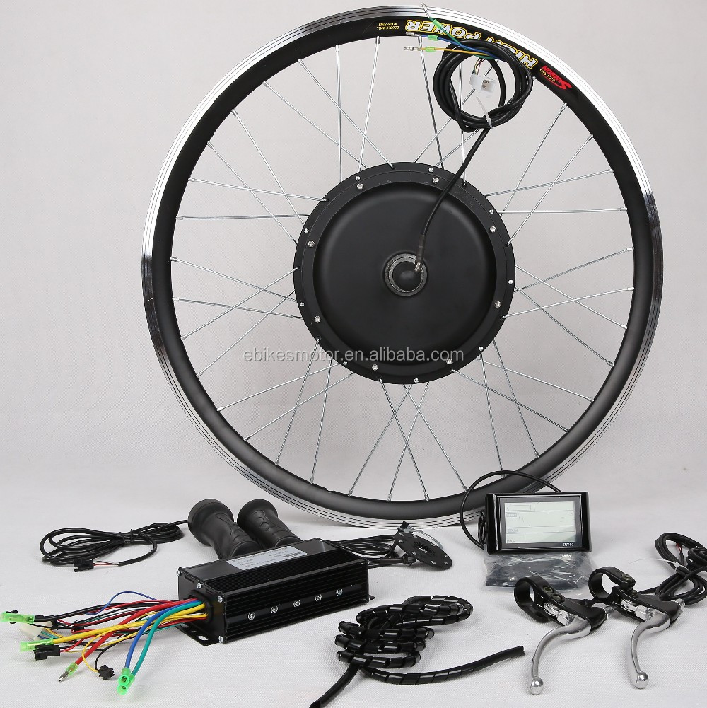 48V1500W 8/9 gears free wheel e-bike conversion kit