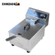 CE Certificated Single Tank Electric Commercial Fryer