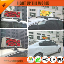 P5 Outdoor LED Car Top Sign,LED Car Rear Window Digital Display