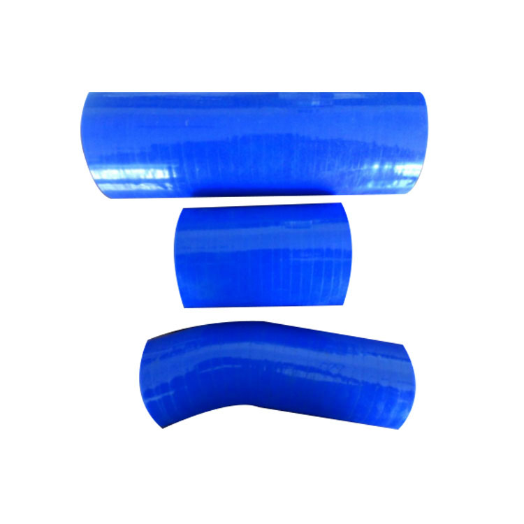 High / low temperature resistance custom 45 degree elbow Silicone rubber hose
