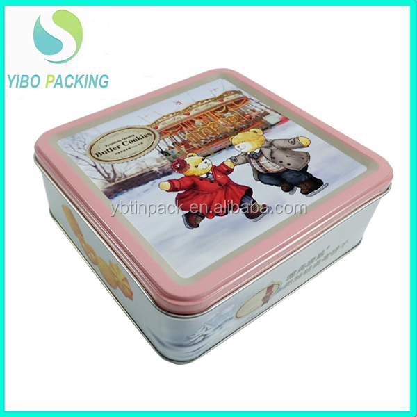 Chinese factory custom tin food safe tin box for food packing OEM service