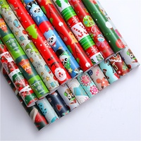 50 Patterns Designs Christmas Gift Wrapping Paper jumbo rolls