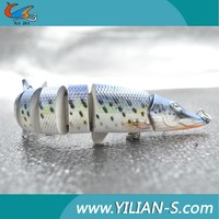 competitive price big game segmented fishing lures blue tilapia for pike fishing lures