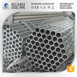 6M CIRCULAR SCAFFOLD PRE GALVANIZED PIPE FROM GALVANIZED STEEL PIPE MANUFACTURER
