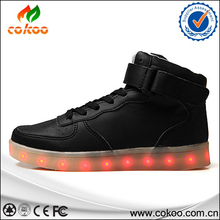 One is eight hot sell china brand adult lighting shoes led shoes sneakers have sample for men women lovers best