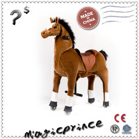 Best sale!!!Amusement human powered riding horse toys, ride on kids animal rocking rides toys