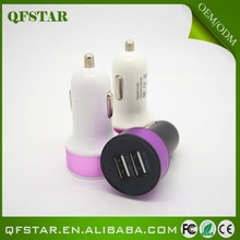 Cost advantage of aluminium dual usb car charger 2.1amp
