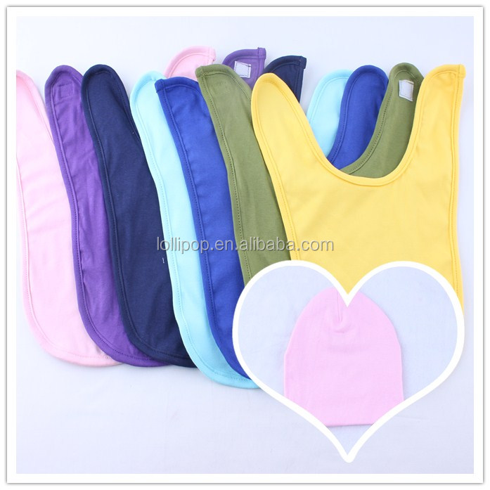 Wholesale Organic Cotton Baby Products Easy To Clean Soft Silicone Baby Pinnies Closer To Nature Comfy Neck Bibs Best Baby Items