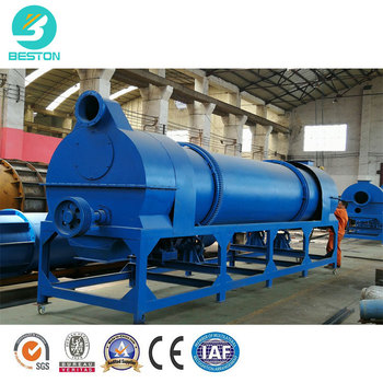continuous rotary sawdust carbonization furnace