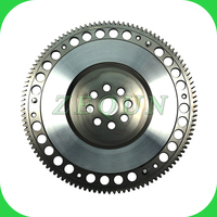 Billet steel lightweight racing flywheel