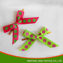 satin ribbon bows for festivals decoration