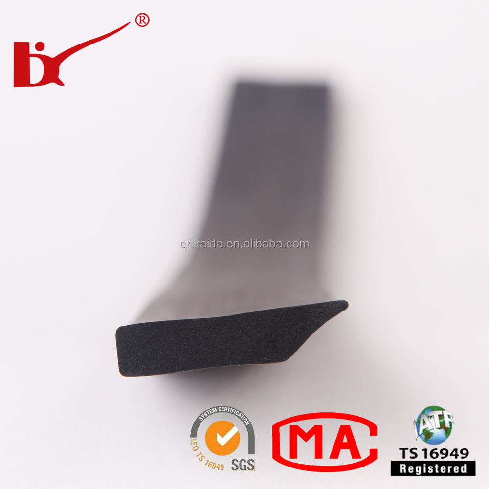Smoke dustproof anti-collision epdm foam door seal for cabinet