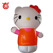 Advertising cartoon character giant inflatable hello kitty